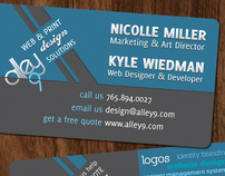 Alley9 Business Cards