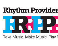 Rhythm Provider logo and branding