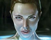 Angelina Jolie ( Beowulf )