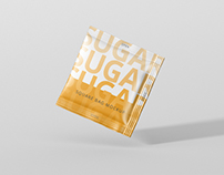 Salt / Sugar Bag Mockup - Square