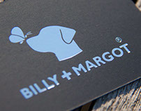 """Billy + Margot"" Logo and Branding Designs"
