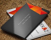 REKAZ Corporate Identity (Orange)