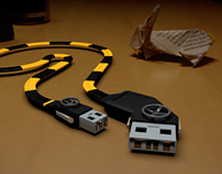 Industrial USB Cable