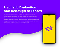 Faasos - Heuristic Evaluation and redesign.