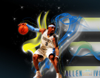 Allen Iverson Wallpaper aka A.I.