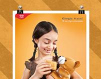 Cucciolone Algida | Print Adv