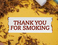 Thank You For Smoking Title Sequence
