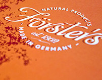 Försters Natural Products