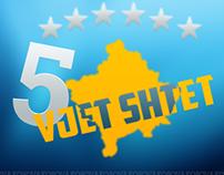 5 Vjet Shtet - Kosovo [5 Years State - Kosovo ]
