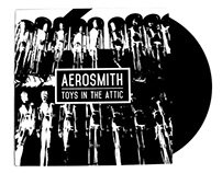 Aerosmith Record Cover