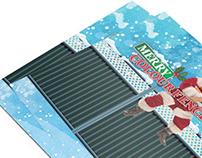Colourfence Christmas Card