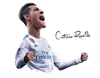 Cristiano Ronaldo - Caricature