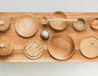 Tapani – wooden tableware