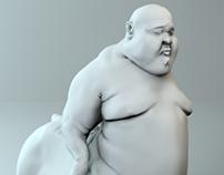 PIGMAN 3D sculpt