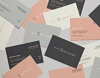 Influencer Agency. Branding project
