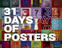 31 DAYS OF POSTERS