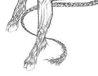 Der Teufel mit den drei goldenen Haaren - Illustration