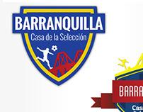 Barranquilla: Casa de la Selección - Logo Mockups