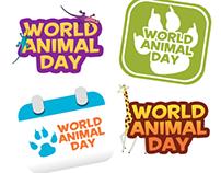 World Animal Day Logo Ideas