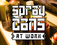 Spray Cans | Photography