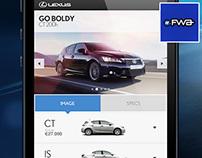 Lexus 'Creating Amazing' Mobile