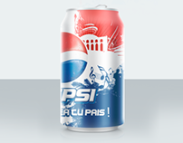 PEPSI Label Design
