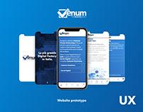 UX - Website project - Prototype - Venum3.0