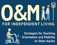 O&M for Independent Living Banner ads