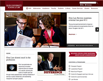 Elon University School of Law Website