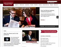 Elon University School of Law Website