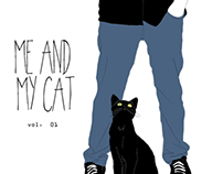 Illustration project ME AND MY CAT volume 1
