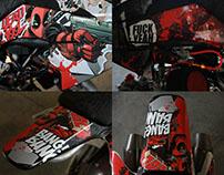 Deadpool pitbike design CRF50