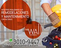 """Campaña publicitaria The Wall """"Nosotros lo Realizamos"""""""