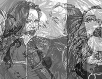 SOLVE et COAGULA. LACE PORTRAITS. Yury Fadeev©