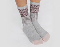 Organic cotton socks for OYSHO A/W 17 collection