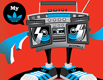 adidas Originals T-shirt Design