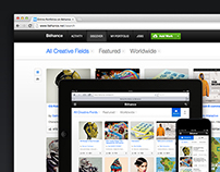 Behance Discover Tab 4.0