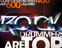 Rock Drummers are Top Athletes