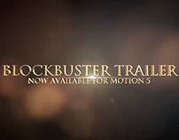 Cinematic Trailer Titles for Motion 5
