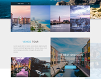 TravelAgency.Landing Page