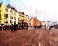 ベネチアを歩く / Camminare a Venezia