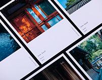 yoin hotel gion kyoto branding identity design