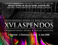 Aspendos Tiyatro Festivali Afiş