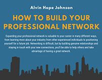 Networking Inforgraphic | Alvin Hope Johnson