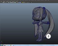 3D Miku