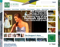 O'More College of Design Website Programming