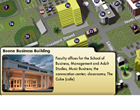 3-D Modeling and Interactive Campus Map Design