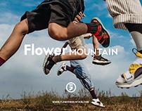 日本Flower mountain山雾花野平面kv广告拍摄