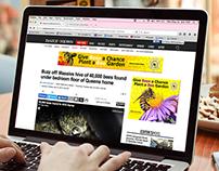 Honeybee Conservancy Banner Ads