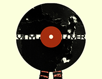 17 Vinyl Records T-Shirts Video - Retro Grunge Vintage